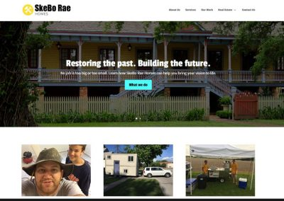 SkeBo Rae Homes Website